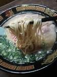 一蘭の麵.JPG