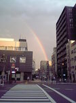月島の虹.JPG
