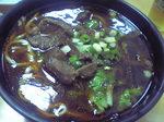 小楽天餃子館の牛肉麺.JPG