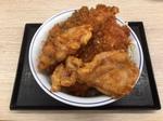 タレカツとから揚げの合盛り丼.JPG