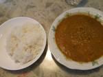 レンズ豆の煮込みカレー&ライス.JPG