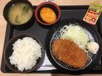 松のや朝得カツ定食WITHコロッケ.JPG